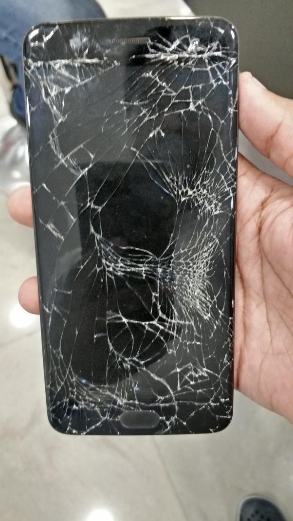 Inconvénients de l'utilisation de votre Smart Phone avec un écran fissuré